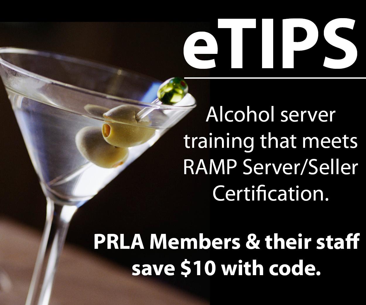 Ramp Certification Pennsylvania Restaurant Lodging Association